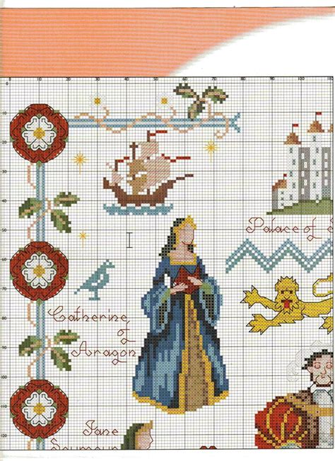 stitches cross king henry viii from cross stitch collection n 176 119 2005 3