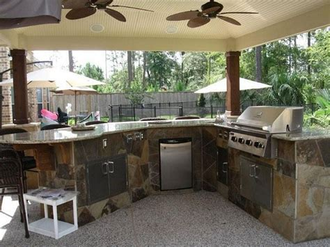 granite outdoor kitchen fireplace patio designs outdoor