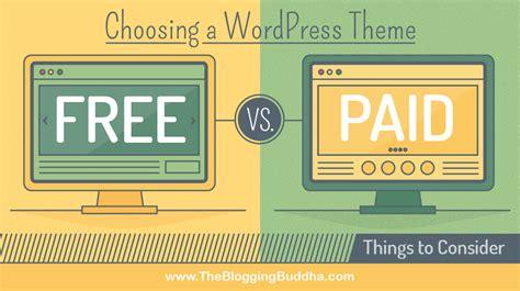 wordpress themes free or paid choosing a wordpress theme free vs paid