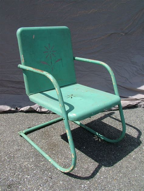 Motel Chairs Vintage by 17 Best Images About Vintage Metal Outdoor Furniture On