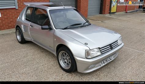 cars peugeot sale peugeot 205 gti dimma performance trackday cars for
