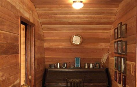 log home interior walls interior wood paneling cabin redwood paneling desk