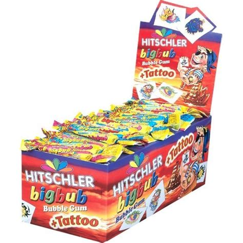 tattoo shoos chewing gumm with hitschler bigbub morgenthaler s