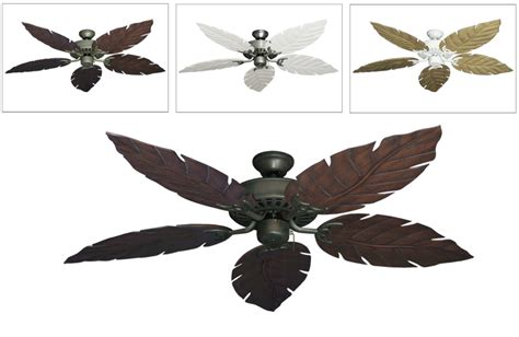 ceiling fan leaf blades leaf ceiling fan blades buy bronze leaf from bed bath