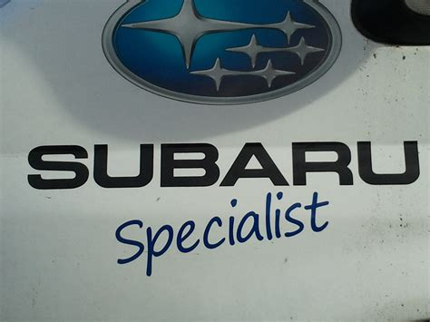 Subaru Specialist by Subaru Servicing Swansea Dave Coe Garage Services Call