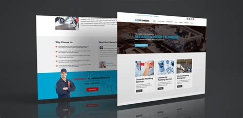Synergy 8 A New Website Template For Plumbers To Get Started Online Helpdesk Website Template