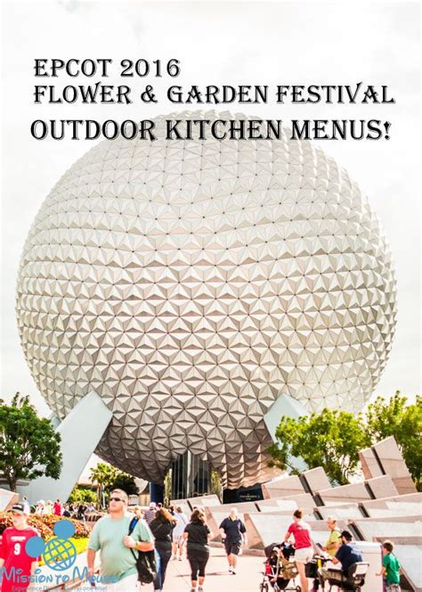 Epcot Flower And Garden Festival Food by 2016 Epcot Flower And Garden Festival Food Menu Walt