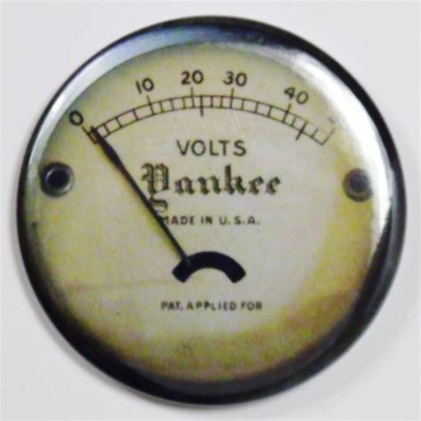 yankee steampunk gauge fridge magnet vintage style