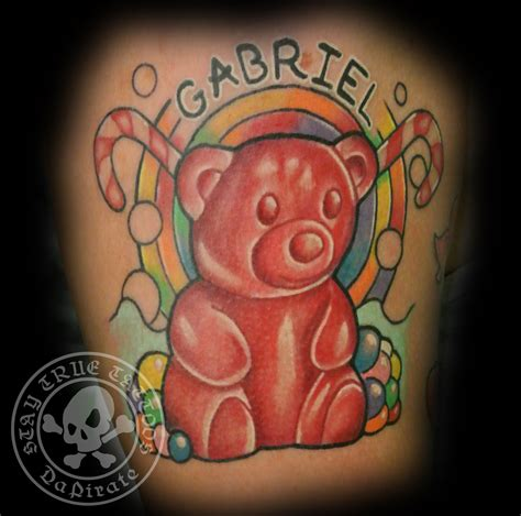 gummy bear tattoo gummy www imgkid the image kid has it