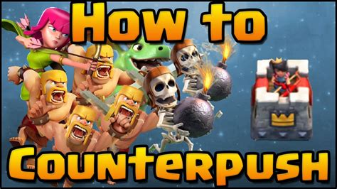 clash royale how to counter