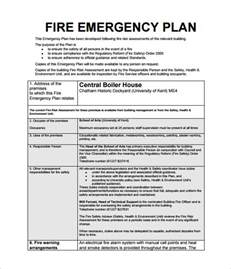 emergency response plan template for construction emergency plan template 8 free sle exle