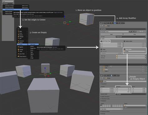 blender tutorial array modifier blog