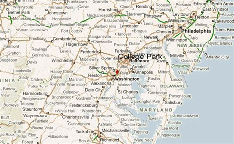 maryland map college park college park location guide
