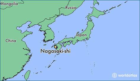 nagasaki map where is nagasaki shi japan nagasaki shi nagasaki map
