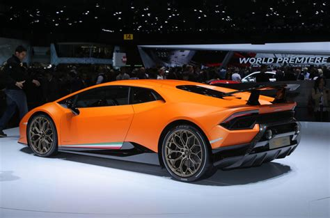 The New Lamborghini Huracán New Lamborghini Huracan Performante Exclusive Pictures