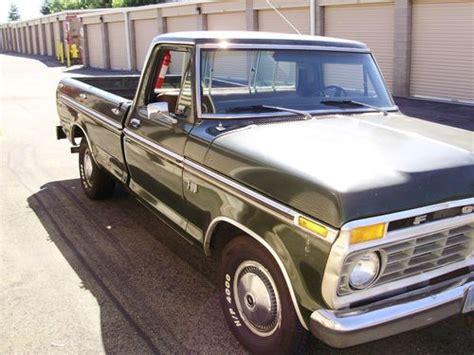 1975 ford f100 ranger purchase new 1975 ford f100 ranger truck 390 motor w 4 on