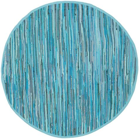 4 ft rug safavieh rag rug blue multi 4 ft x 4 ft area rug