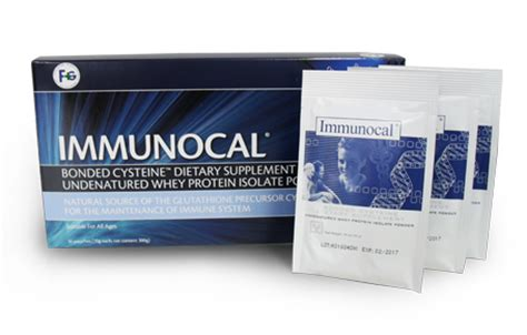 Immunocal Protein Serum Health Products At A Glance Fung Goh Pharma