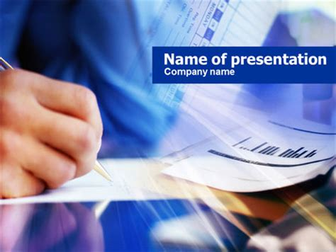 powerpoint template accounting progsarctic accounting reports presentation template for powerpoint