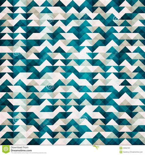 abstract pattern triangle abstract blue triangle seamless pattern stock image