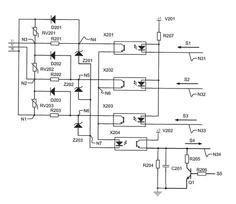 phase detector circuit diagram 3 phase detector circuit diagram circuit and schematics