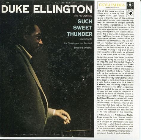 Sweet Thunder by Duke Ellington Such Sweet Thunder 1957