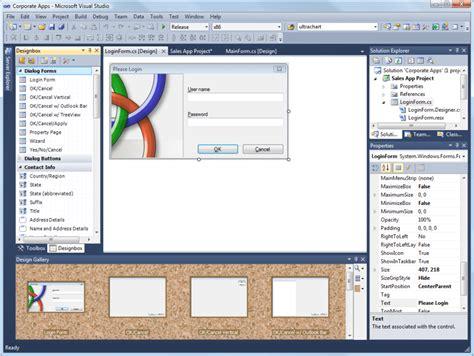 design form visual studio designbox for visual studio