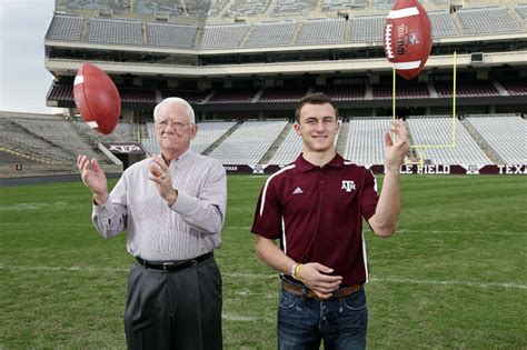 aggies legend of the fall enthralls manziel family san