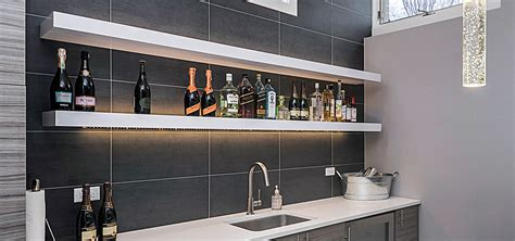 shelf with lights underneath how to choose the best cabinet lighting home
