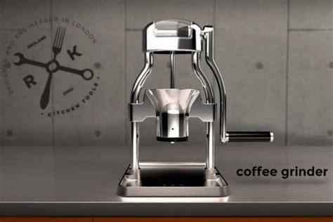Rok Coffee Grinder 電気がなくても大丈夫 手動のコーヒーミル rok coffee grinder えんウチ