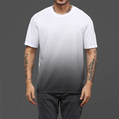 T Shirt Some Only See Colour half gradient t shirt wehustle menswear womenswear