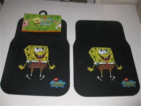Spongebob Car Mats by Free Spongebob Squarepants Pair Of Front Floor Mats Brand