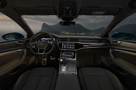 2019 Audi A7 Interior by Audi A7 Sportback 2019 Azul Interior Totalmente Digital