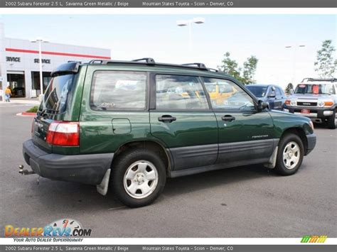 2002 green subaru forester 2002 subaru forester autos post