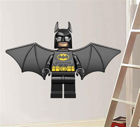 lego batman wall stickers lego flying batman decal removable wall sticker home decor ebay