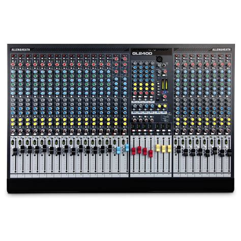 Mixer Allen Heath 8 Channel allen and heath gl2400 24 live mixer at gear4music