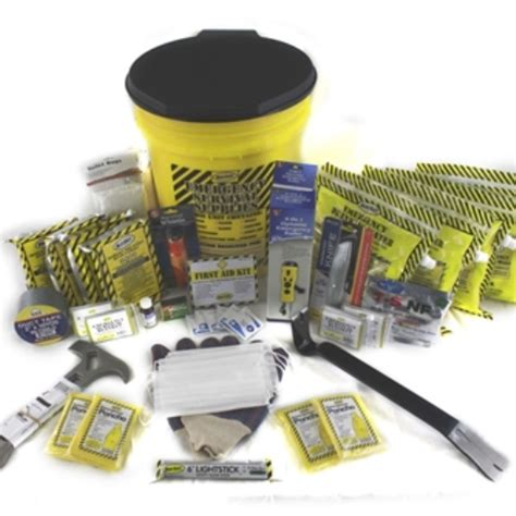 4 person deluxe honey kit sunset survival