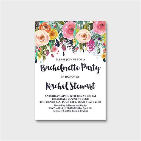 templates for hens night invitations free invitation templates hens night image collections