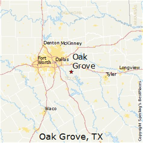 oak texas map best places to live in oak grove texas