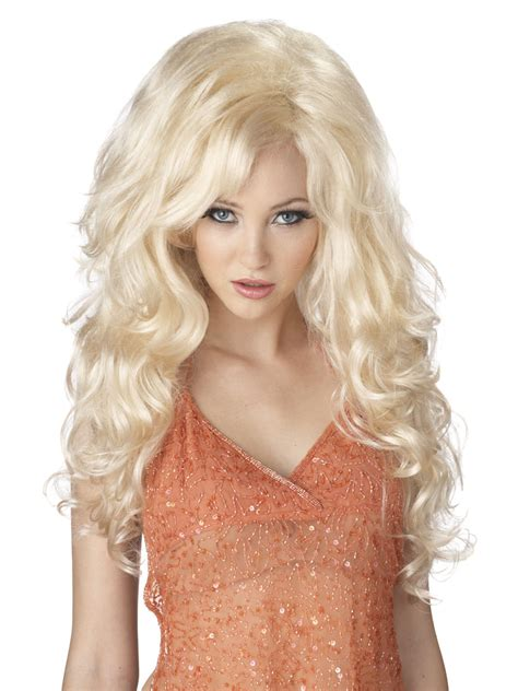 blonde bombshell wig 70631 fancy dress ball