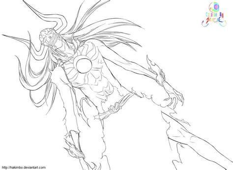 hollow ichigo coloring pages coloring pages