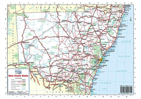 printable nsw road map australia road maps nsw