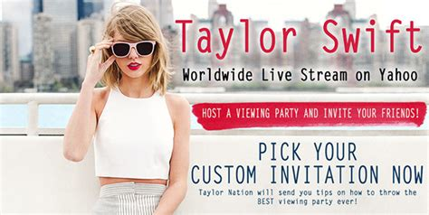 top  tips   taylor swift  party evite
