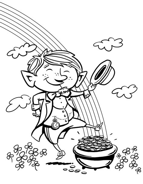 St 039 S Day Coloring Pages 25 Leprechaun Printable Coloring Pages Leprechaun