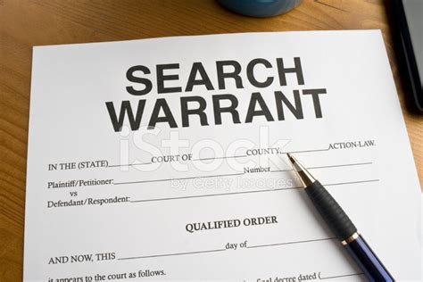 Search Warrants Search Warrant Stock Photos Freeimages