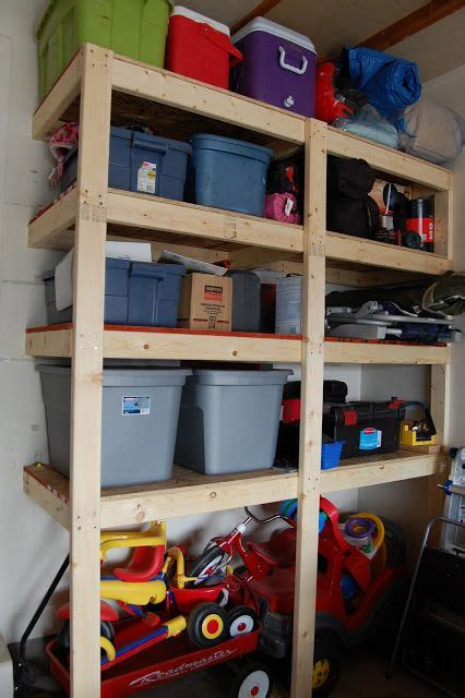 Build Your Own Garage Shelves by Build Your Own Garage Storage Solutions Woodworking