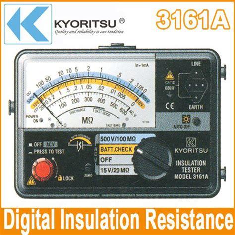 Multimeter Analog Termurah jual insulation tester kyoritsu 3161a harga termurah di
