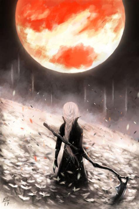 bloodborne  skadi bloodborne bloodborne art dark souls