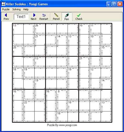 printable sudoku fiendish related keywords suggestions for killer sudoku puzzles