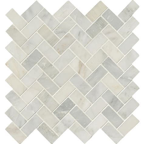 download pattern mosaic 10 x 10 msi arabescato carrara herringbone pattern 12 in x 12 in